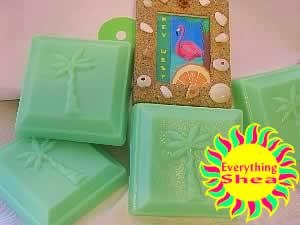 key west glycerin shea butter kpangnan soap at everything shea aromatic creations