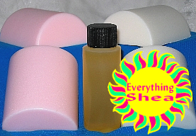 moringa-shea butter glycerin soap at Everything Shea Aromatic Creations