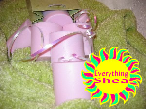 spring lilacs glycerin shea butter soap at Everything Shea Aromatic Creations