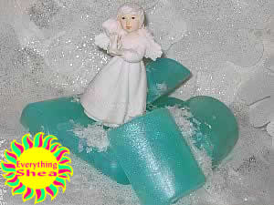 angel type glycerin shea butter soap