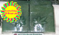 ganja fudge brownie glycerin shea butter soap at Everything Shea Aromatic Creations