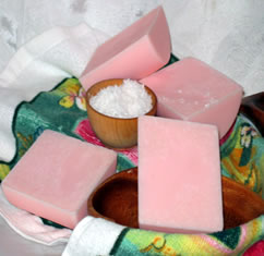 hollywood fruits nuts & flakes shea butter glycerin soap at everything shea aromatic creations