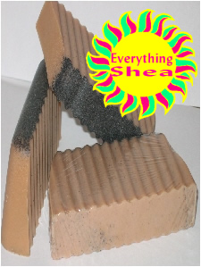 vanilla bean speckles glycerin shea butter soap at everything shea aromatic creations