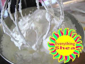 whipped shea butter at Everything Shea Aromatic Creations